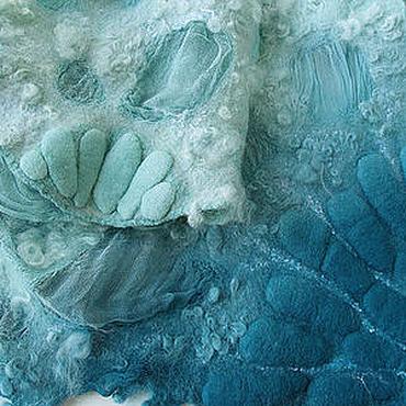 """Одежда ручной работы. Ярмарка Мастеров - ручная работа Болеро-кардиган """"Лазурный берег"""". Handmade."""