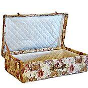 Сумки и аксессуары handmade. Livemaster - original item Suitcase jacquard (1). Handmade.