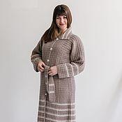 """Пальто ручной работы. Ярмарка Мастеров - ручная работа Пальто вязаное """"Горожанка"""" крючком. Handmade."""