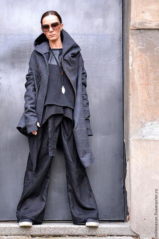 Пальто, женское пальто, шерстяное пальто, шерсть, пальто не весну, модное пальто ,дизайнерское пальто  Aakasha Ярмарка Мастеров