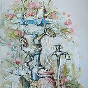 Картины и панно ручной работы. Ярмарка Мастеров - ручная работа Аппарат для фильтрации воспоминаний:). Handmade.