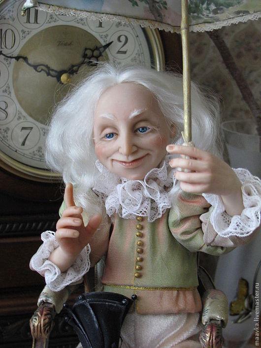 Коллекционные куклы ручной работы. Ярмарка Мастеров - ручная работа. Купить Оле-Лукойе. Handmade. Авторская кукла, подарок для детей