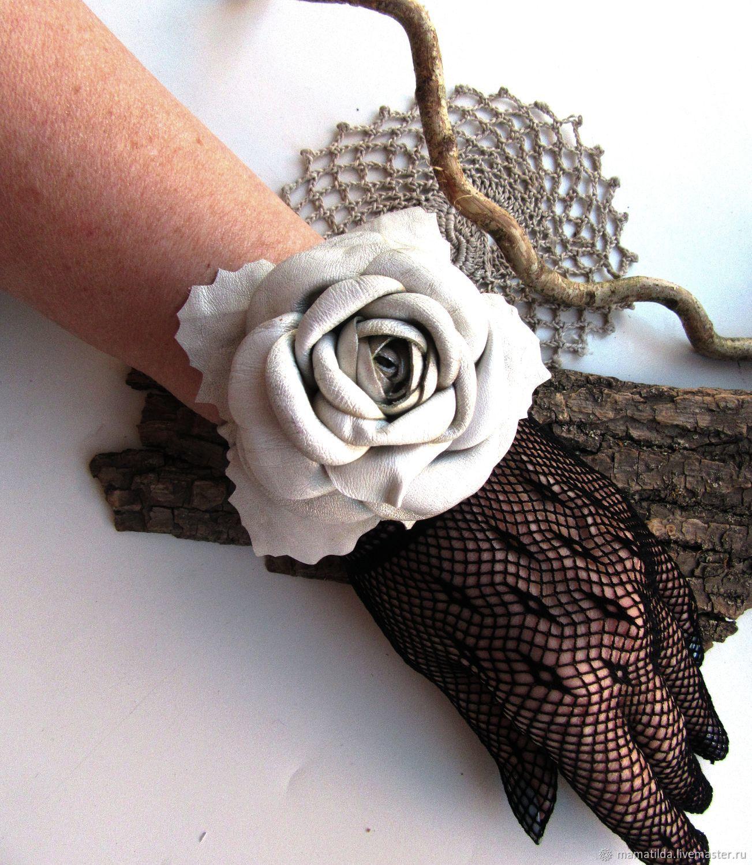 Браслеты Аэлита (кожа), Hard bracelet, Taganrog,  Фото №1
