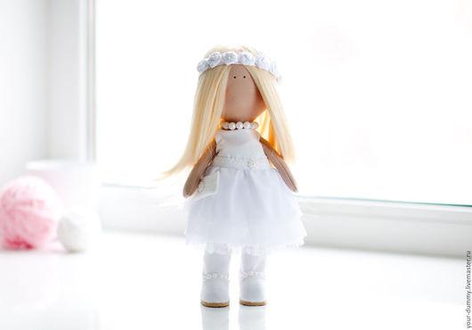 Коллекционные куклы ручной работы. Ярмарка Мастеров - ручная работа. Купить Кукла Белоснежка ( одежда сьемная). Handmade. Белый