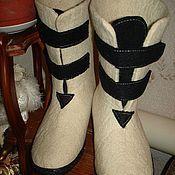 Обувь ручной работы. Ярмарка Мастеров - ручная работа Валенки мужские. Handmade.