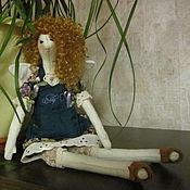 Куклы и игрушки handmade. Livemaster - original item doll Tilda Fairy hairdresser. Handmade.