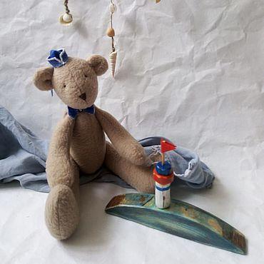 """Куклы и игрушки ручной работы. Ярмарка Мастеров - ручная работа Тильда медведь """"Моряк"""". Handmade."""