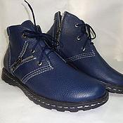 Обувь ручной работы. Ярмарка Мастеров - ручная работа Мужские димисизонные ботинки. Handmade.
