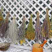 Для дома и интерьера ручной работы. Ярмарка Мастеров - ручная работа Подвеска из трав в стиле кантри. Handmade.