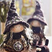 Куклы и игрушки ручной работы. Ярмарка Мастеров - ручная работа Кофейная Ведьмочка. Handmade.