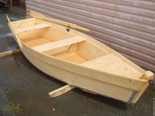 Экстерьер и дача ручной работы. Ярмарка Мастеров - ручная работа. Купить Лодка деревянная. Handmade. Желтый, ландшафтный дизайн, дерево