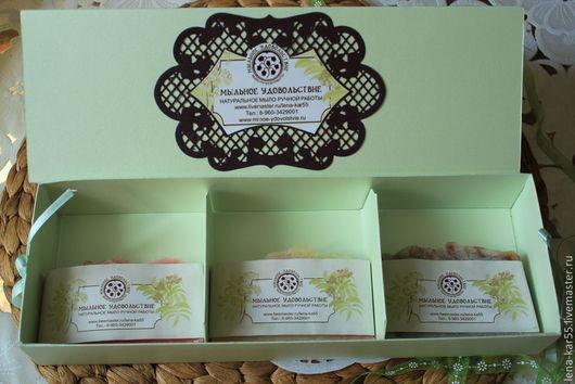 подарочная коробка для мыла, натуральное мыло в подарочной коробке, красивая упаковка мыла, подарочная упаковка натурального мыла,