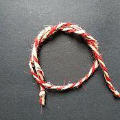 Фен-шуй и эзотерика handmade. Livemaster - original item Nettle red thread for good luck. Handmade.