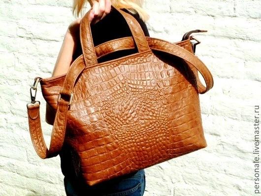 Женские сумки ручной работы. Ярмарка Мастеров - ручная работа. Купить Delta New. Handmade. Женская сумка, вместительная сумка