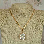 Pendants handmade. Livemaster - original item Chain with pendant Baroque pearls, serebro925, 14Karat. Handmade.