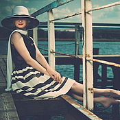 Одежда ручной работы. Ярмарка Мастеров - ручная работа Комплект Eletto из блузы и пышной юбочки. Handmade.