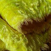 Материалы для творчества ручной работы. Ярмарка Мастеров - ручная работа Плюш Лимонный. Handmade.