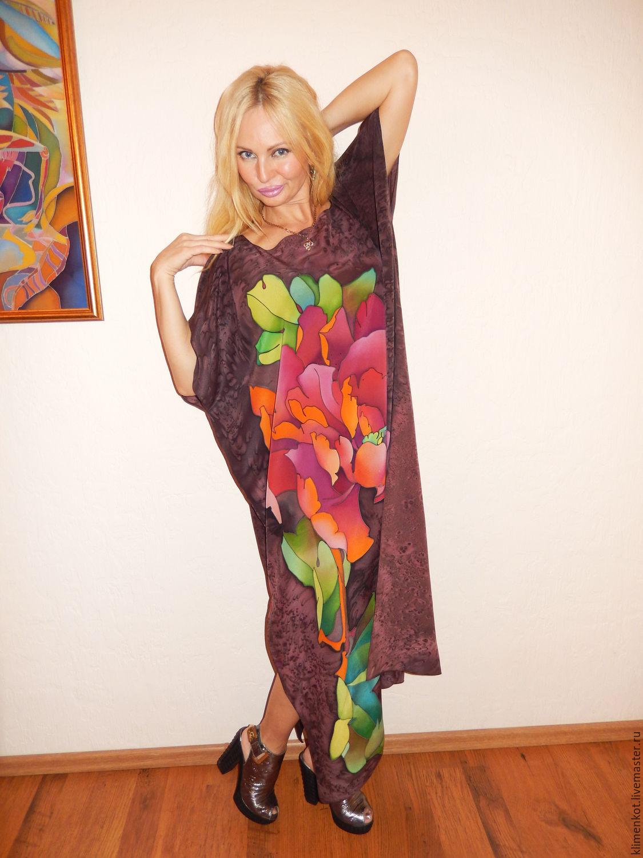 платье-Страстный цветок в шоколаде, Платья, Иваново, Фото №1