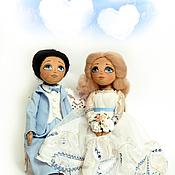 Куклы и игрушки ручной работы. Ярмарка Мастеров - ручная работа Жених и Невеста. Handmade.