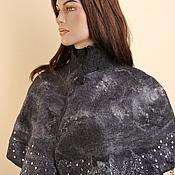 """Одежда ручной работы. Ярмарка Мастеров - ручная работа Пелерина """"Звездное небо"""". Handmade."""