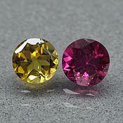 Материалы для творчества handmade. Livemaster - original item Tourmalines colored pair on earrings. Handmade.