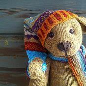 Куклы и игрушки handmade. Livemaster - original item Bear in the hood. Handmade.