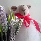 Куклы и игрушки ручной работы. Ярмарка Мастеров - ручная работа Овечка в стиле Тильда. Handmade.