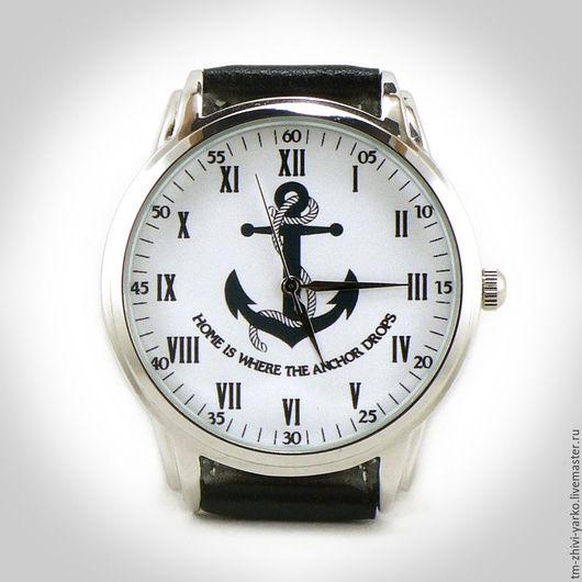 "Часы ручной работы. Ярмарка Мастеров - ручная работа. Купить Часы наручные ""Аnchor"". Handmade. Часы, часы ручной работы"