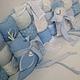 """Игрушки животные, ручной работы. Голубки из серии """"Blue ocean"""". Дроздова Алла (drozdova-alla). Ярмарка Мастеров. Голубки, детям"""