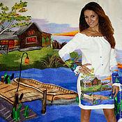 "Одежда handmade. Livemaster - original item Dress ""House by the Pond"". Handmade."