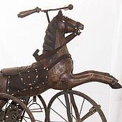 Винтаж ручной работы. Ярмарка Мастеров - ручная работа Конь-велосипед «Le cheval en bois» скрипит потертое седло ностальги. Handmade.