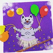 Куклы и игрушки handmade. Livemaster - original item the book felt. Circus. Handmade.