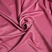 Ткани ручной работы. Ярмарка Мастеров - ручная работа Ткань для штор портьерная однотонная Софт Темно-розовый, брусничный. Handmade.