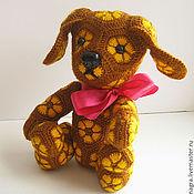 """Куклы и игрушки ручной работы. Ярмарка Мастеров - ручная работа Собачка """"Лютик"""". Handmade."""