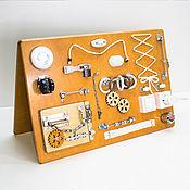 Бизиборды ручной работы. Ярмарка Мастеров - ручная работа Бизиборд для детского развития. Handmade.