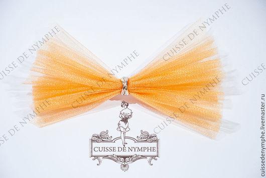 Шитье ручной работы. Ярмарка Мастеров - ручная работа. Купить Фатин, морковно-оранжевый (carrot orange), KRST-1026. Handmade.