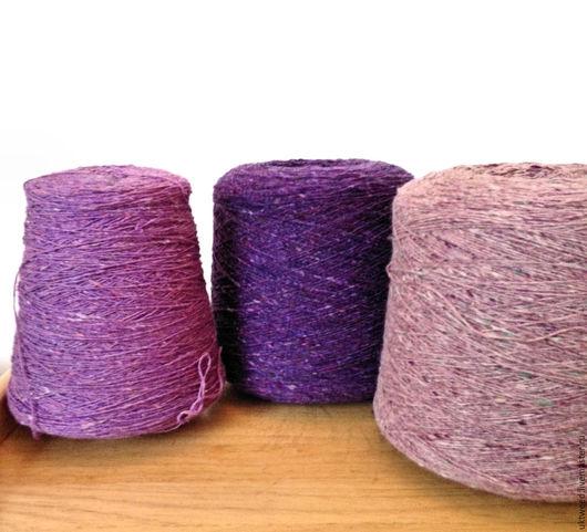 Вязание ручной работы. Ярмарка Мастеров - ручная работа. Купить Soft Donegal Tweed -100% меринос. Handmade. Пряжа