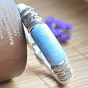 Украшения handmade. Livemaster - original item Women`s leather bracelet Regaliz