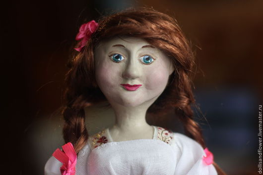 Коллекционные куклы ручной работы. Ярмарка Мастеров - ручная работа. Купить Кукла Таня. Handmade. Кукла ручной работы
