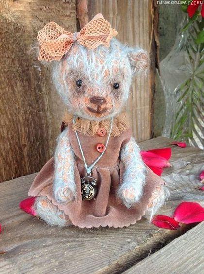 Мишки Тедди ручной работы. Ярмарка Мастеров - ручная работа Агнесс. Handmade.