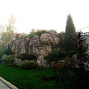 Дизайн и реклама ручной работы. Ярмарка Мастеров - ручная работа Искусственная скала - имитация природного камня.. Handmade.