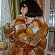 Шуба из канадской лисы заказать в меховом ателье fursstyle.ru