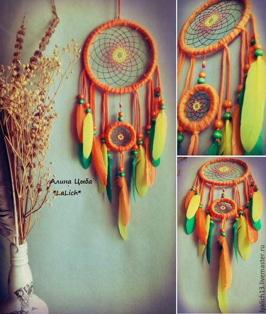 Ловец Снов `Orange tree` добавит яркости в ваши сновидения!