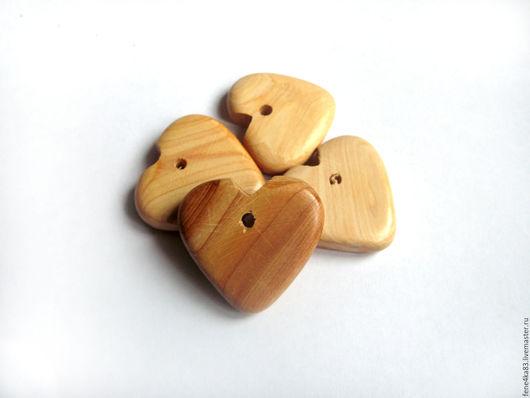 """Для украшений ручной работы. Ярмарка Мастеров - ручная работа. Купить Подвеска """"Сердце"""". Handmade. Можжевельник, сердце, сердечко подвеска"""