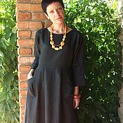 """Одежда ручной работы. Ярмарка Мастеров - ручная работа Платье""""...читая Мастера""""(бохо). Handmade."""