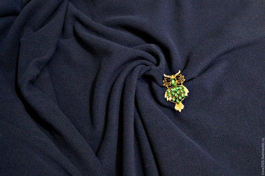 Шитье ручной работы. Ярмарка Мастеров - ручная работа. Купить Ткань Флис тёмно-синий НЕТ В НАЛИЧИИ. Handmade.