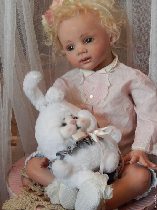 """Куклы-младенцы и reborn ручной работы. Ярмарка Мастеров - ручная работа. Купить Кукла """"Алёнка"""". Handmade. Комбинированный, винил, гранулят"""