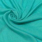 Ткани ручной работы. Ярмарка Мастеров - ручная работа Ткань штапель мор.волна. Handmade.