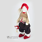 Куклы и игрушки ручной работы. Ярмарка Мастеров - ручная работа Зайка Гном. Handmade.
