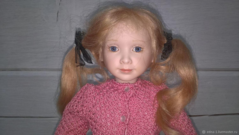 Фарфоровая кукла Amponos, Портретная кукла, Москва,  Фото №1